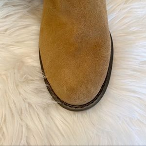 Sole Society Shoes - Sole Society Juno Shearling Trim Boot 7.5